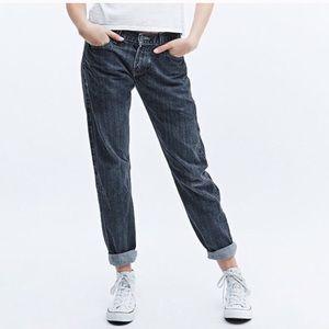 Levi's 550 high waist mom jeans 12L 12 long taper
